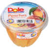 Picture of Dole Peach Slices Bowl w/Fork 7oz (71966)